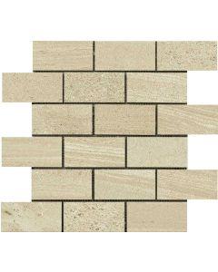 "LDI - Montpellier: Beige 11.5""x11.5""- Ceramic Mosaic"