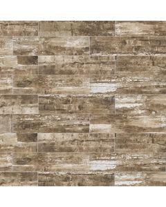 "LDI - Railwood: Driftwood 9""x36"" - Porcelain Tile"