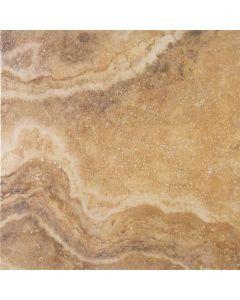 "LDI - Reale Travertino: Gold 13""x13"" - Ceramic Tile"