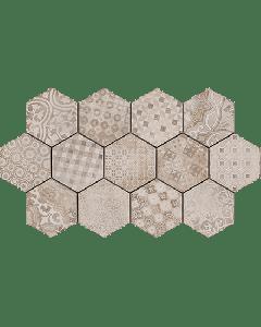 "LDI - Rewind: Cementine 8""x8"" - Porcelain Mosaic"