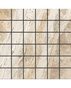 "LDI - Savona: Coral Sand 13""x13"" - Porcelain Mosaic"
