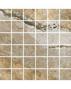 "LDI - Savona: Multicolor 13""x13"" - Porcelain Mosaic"