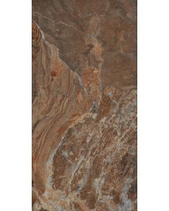 "LDI - Vesubio: Napoles Brown 10""x20"" - Ceramic Tile"