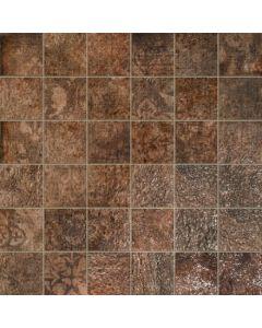 """LDI - Villa Medici: Cotto 2""""x2"""" - Porcelain Mosaic"""