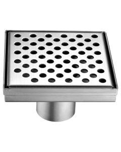 "Dawn® Rhone River Series - Square Shower Drain 5""L"