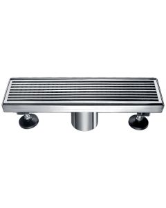 "Dawn® Wheaton River Series - Linear Shower Drain 12""L"