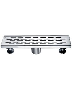"Dawn® Yangtze River Series - Linear Shower Drain 12""L"