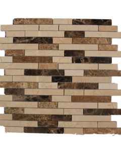 """Western Pacific - Natural Stone: Marble Strips 12""""x12"""""""