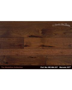 Naturally Aged Flooring - Medallion: Marsala - Engineered Handscraped