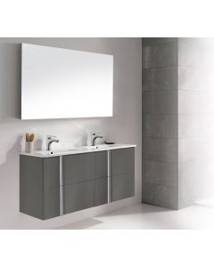 Dawn® - Onix Vanity: Anthracite - Double Dink