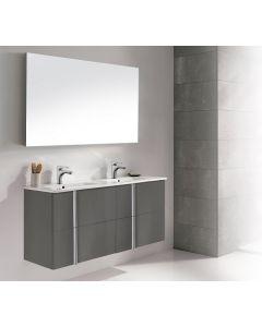 Dawn® - Onix Vanity: Anthracite - Double Dink