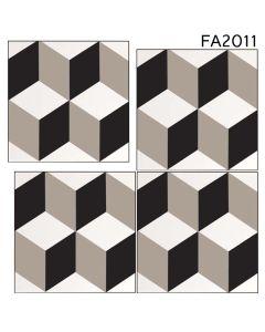 "Ottimo Ceramics - Broadway: FA2011 8""x8"" - Porcelain Tile"