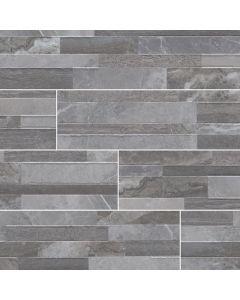 "MSI Stone - Dekora: Palisade Grey 6"" x 24"" - Porcelain Panel"