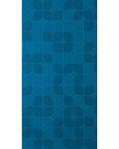 LDI - Kaleido: Peacock Curved Wall 12 x 24 - Ceramic Tile