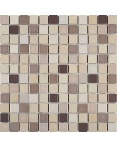 Beige Stone Brown/Beige Ceramic Mix - Mosaic