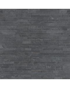 "MSI Stone -  M-Series: Premium Black 4.5"" x 6"" - Stacked Stone Panel"