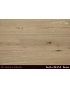 Naturally Aged Flooring - Medallion: Santee - Engineered Wirebrushed