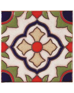 Arto Brick - California Revival: SD102A - Handpainted Deco Tile