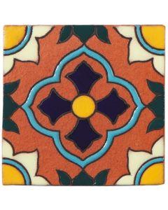 Arto Brick - California Revival: SD102C - Handpainted Deco Tile
