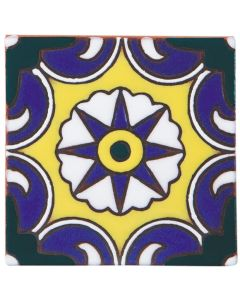 Arto Brick - California Revival: SD104A - Handpainted Deco Tile