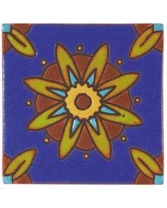 Arto Brick - California Revival: SD105A - Handpainted Deco Tile