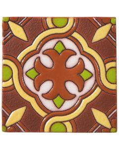 Arto Brick - California Revival: SD107B - Handpainted Deco Tile
