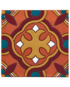 Arto Brick - California Revival: SD107C - Handpainted Deco Tile