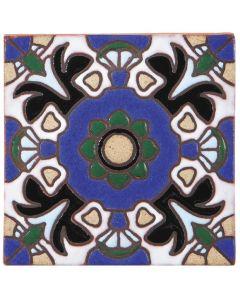 Arto Brick - California Revival: SD108A - Handpainted Deco Tile