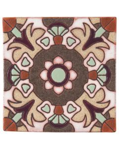 Arto Brick - California Revival: SD108B - Handpainted Deco Tile