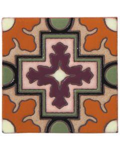Arto Brick - California Revival: SD109A - Handpainted Deco Tile
