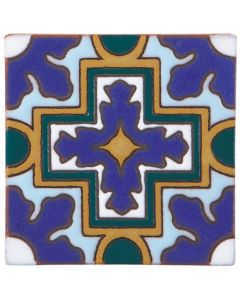 Arto Brick - California Revival: SD109B - Handpainted Deco Tile