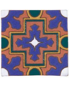 Arto Brick - California Revival: SD109C - Handpainted Deco Tile