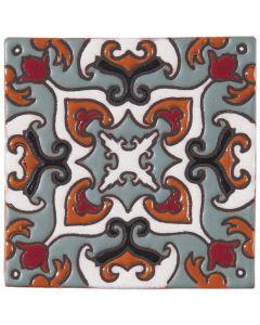Arto Brick - California Revival: SD110A - Handpainted Deco Tile