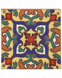 Arto Brick - California Revival: SD110B - Handpainted Deco Tile