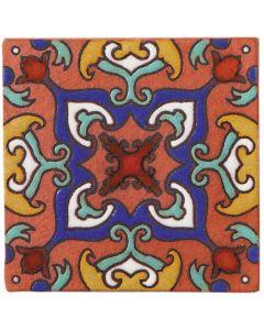 Arto Brick - California Revival: SD110C - Handpainted Deco Tile
