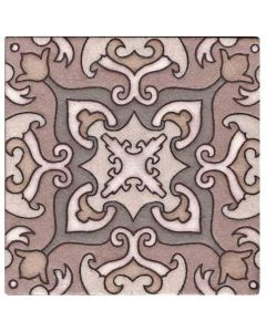 Arto Brick - Handpainted Deco: SD110TAN - Artillo Tile