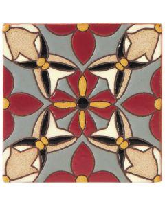 Arto Brick - California Revival: SD111B - Handpainted Deco Tile