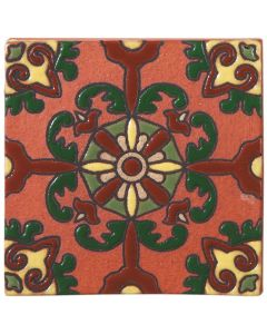 Arto Brick - California Revival: SD112C - Handpainted Deco Tile