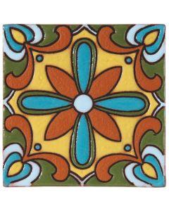 Arto Brick - California Revival: SD113A - Handpainted Deco Tile