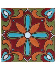 Arto Brick - California Revival: SD113B - Handpainted Deco Tile