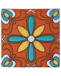 Arto Brick - California Revival: SD113C - Handpainted Deco Tile