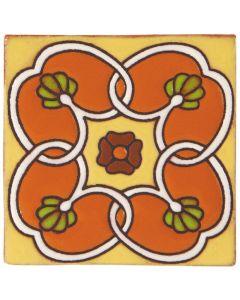 Arto Brick - California Revival: SD114B - Handpainted Deco Tile