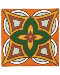 Arto Brick - California Revival: SD115B - Handpainted Deco Tile