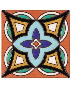 Arto Brick - California Revival: SD115C - Handpainted Deco Tile
