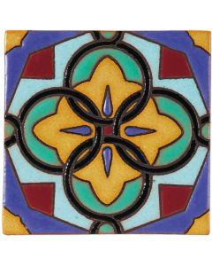 Arto Brick - California Revival: SD116A - Handpainted Deco Tile
