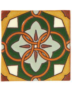 Arto Brick - California Revival: SD116B - Handpainted Deco Tile
