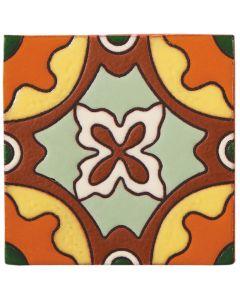 Arto Brick - California Revival: SD118B - Handpainted Deco Tile