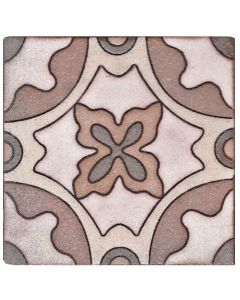 Arto Brick - Handpainted Deco: SD118TAN- Artillo Tile