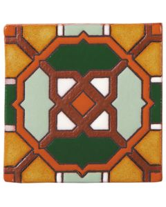 Arto Brick - California Revival: SD119B - Handpainted Deco Tile