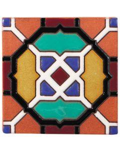 Arto Brick - California Revival: SD119C - Handpainted Deco Tile